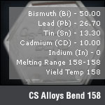 CS Alloys Bend 158