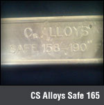 CS Alloys Safe 165